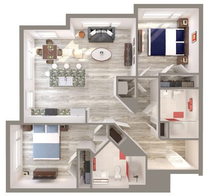 The Cobbler floor plan
