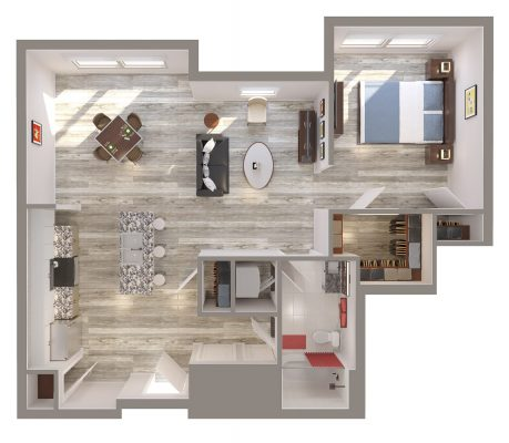 The Coopersmith floor plan