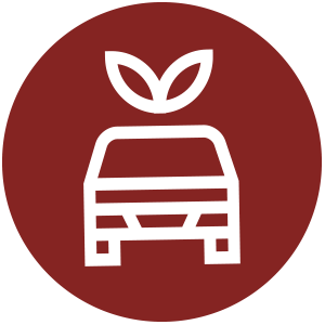 Eco-Friendly transpotation icon