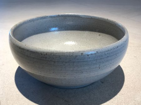 Grey Serving Bowl by R. Pazimo