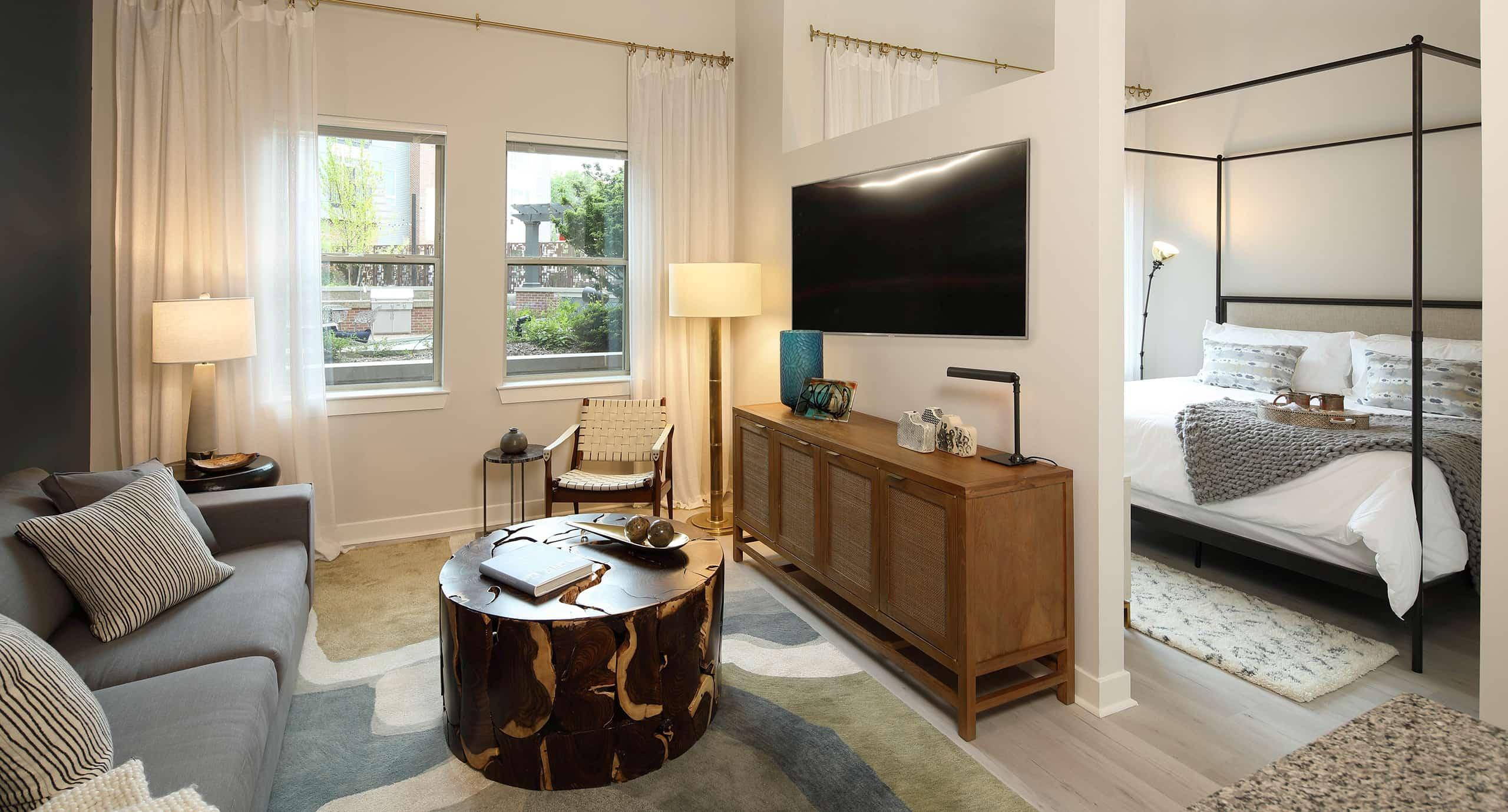 Artisan 4100 living room